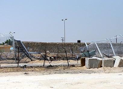 מתקפת הטרור ליד כרם שלום. 9 מ-10 ההרוגים ממתקפות מעזה וסיני (צילום: רועי עידן) (צילום: רועי עידן)