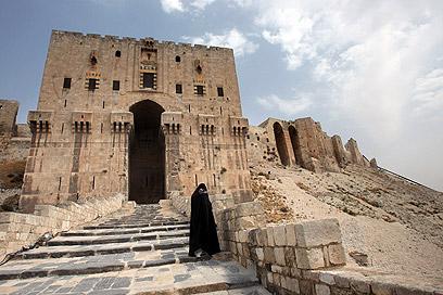 המצודה העתיקה בחלב, בתמונה מלפני 4 שנים (צילום: AFP) (צילום: AFP)