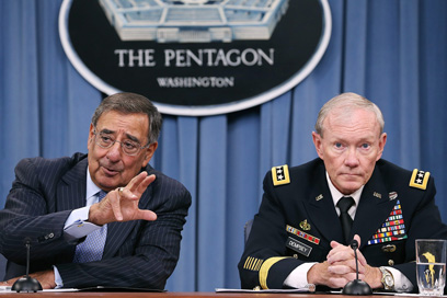 Panetta and Dempsey on Tuesday (Photo: AP)