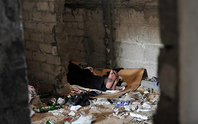 המקום שבו נעצר החשוד. רחוב המסגר בתל אביב (צילום: בני דויטש) (צילום: בני דויטש)
