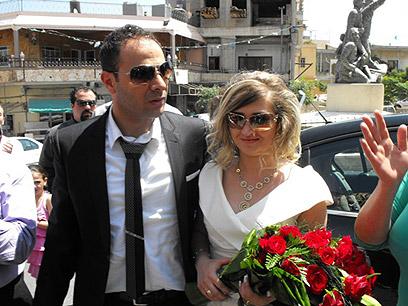 הזוג המאושר. החגיגה הגדולה רק בשבוע הבא (צילום : אתר פאנט) (צילום : אתר פאנט)