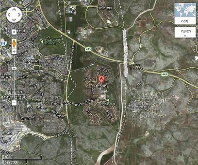 מפה של מכבים (צילום: Street View on Google Maps) (צילום: Street View on Google Maps)