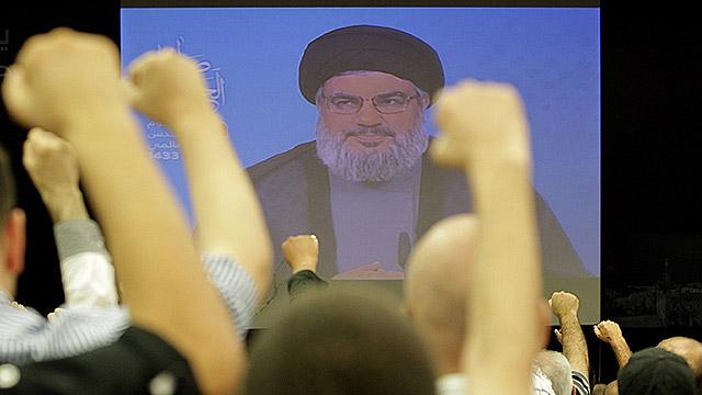 תומכי נסראללה בלבנון (צילום: AFP) (צילום: AFP)