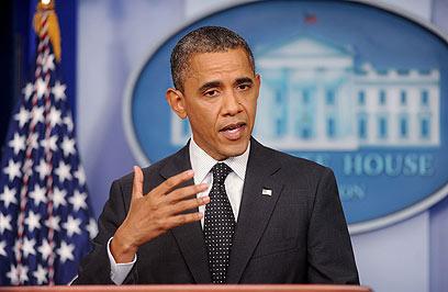"""""""האלימות הוכפלה"""". אובמה בבית הלבן (צילום: MCT) (צילום: MCT)"""