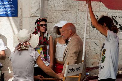 בהוליווד יש קרון, בישראל שמשיה. פטריק סטיוארט (צילום: אוהד צויגנברג) (צילום: אוהד צויגנברג)