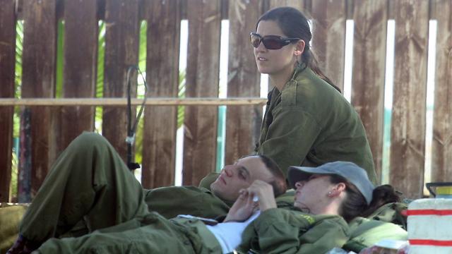 Reservists at the Israel-Jordan border. (Archive Photo: Motti Kimchi)