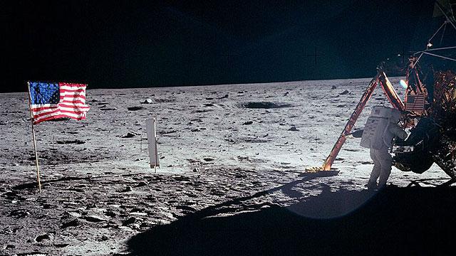 Apollo 11 touches down on the moon (Photo: EPA) (Photo: EPA)