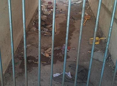 חצר גן ילדים בירכא. אבל במועצה לא מודאגים (צילום: ארז חביש) (צילום: ארז חביש)