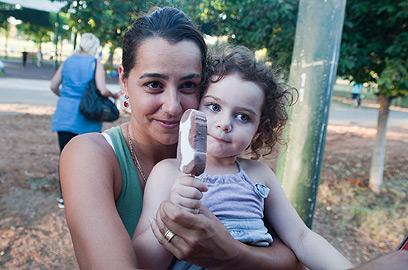 מיטל ושקד קרופניק. העיקר שהילדה מרוצה (צילום: בני דויטש) (צילום: בני דויטש)