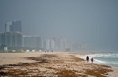 גשם במדינת פלורידה. בניו-אורלינס נערכים לדברים גרועים בהרבה (צילום: MCT) (צילום: MCT)