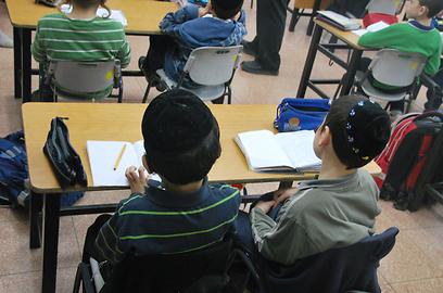 אחוזים גדולים של ילדים בישראל לומדים בתנאי עולם שלישי (צילום: יואב פרידמן)