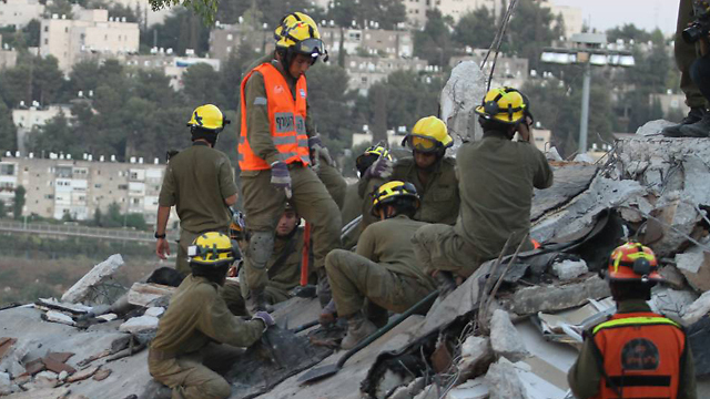 Previous IDF Home Front drill (Photo: Gil Yohanan/Archive)