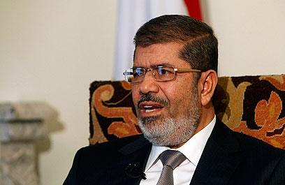 נשיא מצרים מוחמד מורסי. כיצד יגיב לתקרית החמורה? (צילום: רויטרס) (צילום: רויטרס)