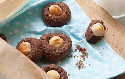 עוגיות שוקולד ולוז: פריכות ומתמוססות על הלשון (צילום: אנטולי מיכאלו) (צילום: אנטולי מיכאלו)