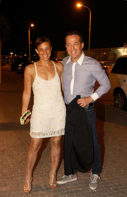 הבוס שלה. גיא פינס ואשתו רותי רודנר   (צילום: עידו ארז) (צילום: עידו ארז)