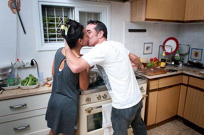 האהבה תמיד מנצחת. יריב ולק מלילי (צילום: ירון ברנר) (צילום: ירון ברנר)