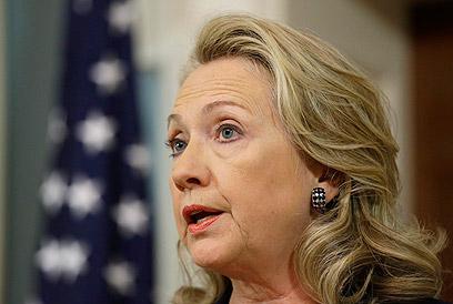 """קלינטון. מרחיקה את ממשלת ארה""""ב (צילום: AP) (צילום: AP)"""