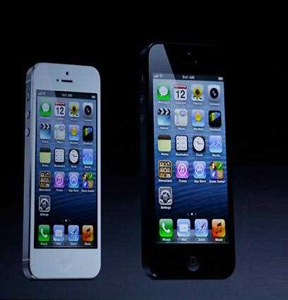 אייפון 5. עכשיו עם יותר מגנטים! (צילום: AP)