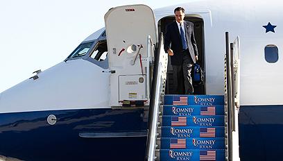 """קרב צמוד ב""""אימא של הנשיאים"""". רומני נוחת בווירג'יניה (צילום: רויטרס) (צילום: רויטרס)"""