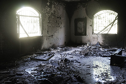 US Consulate in Benghazi after attack (Photo: AFP)