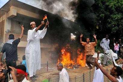 מהומות בסודן, היום (צילום: AFP) (צילום: AFP)