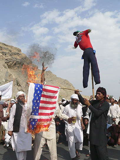 Riot in Afghanistan over anti-Islam film (Photo: AFP)