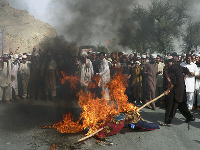 Riots in Afghanistan (Photo: AFP)