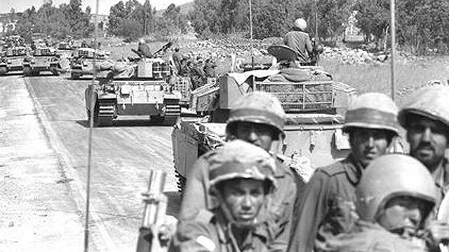 """""""מבחינה צבאית היה המצב בטוח"""". חיילי צה""""ל במלחמה (צילום: לע""""מ) (צילום: לע"""