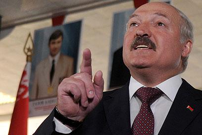 הגבלות על חופש הביטוי. רודן בלרוס לוקשנקו (צילום: AFP)