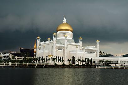 מסגד הסולטן עומר עלי סאיפודין  (צילום: shutterstock) (צילום: shutterstock)