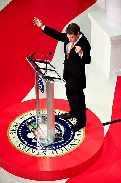 הוועידה הרפובליקנית במצלמה של גיל לביא (צילום: גיל לביא ) (צילום: גיל לביא )
