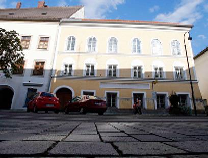 חזית בית ילדותו של אדולף היטלר (צילום: רויטרס) (צילום: רויטרס)