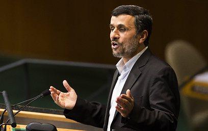 Iranian President Mahmoud Ahmedinejad at the UN (Photo: AP)