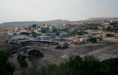 """הכפר אום אל-חיראן. """"יש פתרונות מגורים ביישוב חורה"""" (צילום: עדאלה סוהאד) (צילום: עדאלה סוהאד)"""