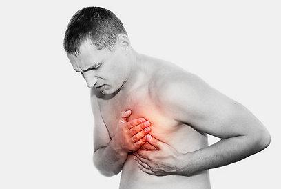 כולסטרול גבוה = סיכון למחלת לב טרשתית (צילום: shutterstock) (צילום: shutterstock)