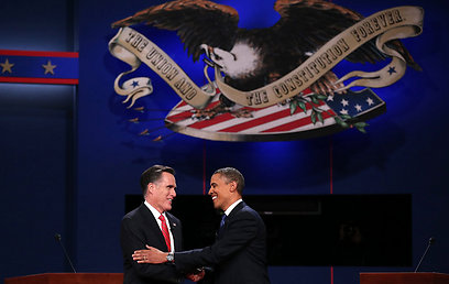 Obama-Romney debate (Photo: AFP)