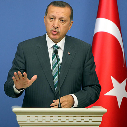 Defining moment. PM Erdogan (Photo: AFP)