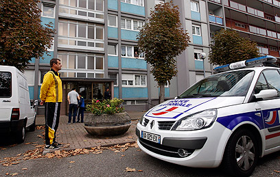Anti-terror raid in Strasbourg (Photo: AFP)