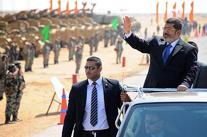 נשיא מצרים מוחמד מורסי (צילום: AP) (צילום: AP)