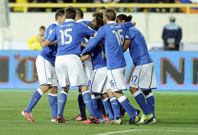 """נבחרת איטליה. """"שילבנו הרבה צעירים וצריך להשתפר"""" (צילום: Gettyimages)"""
