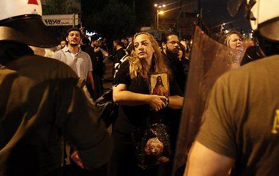 ההצגה בוטלה שבועיים ברצף בגלל המחאה (צילום: AP)