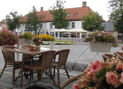 מסעדה באי Saaremaa באסטוניה (צילום: איילת נעמן- חברת אופקים) (צילום: איילת נעמן- חברת אופקים)