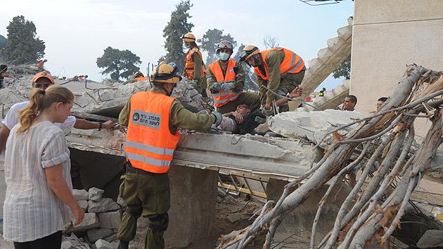 """ליקויים במוכנות לרעידות אדמה (צילום: דובר צה""""ל)"""