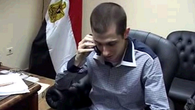 Shalit prior to his release from Hamas captivity