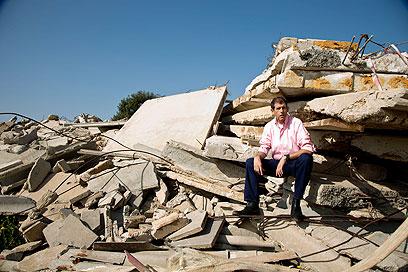 דובי איכנולד, 2012. גם למשפחתו לא סיפר מה עבר עליו בצור (צילום: רמי זרנגר) (צילום: רמי זרנגר)