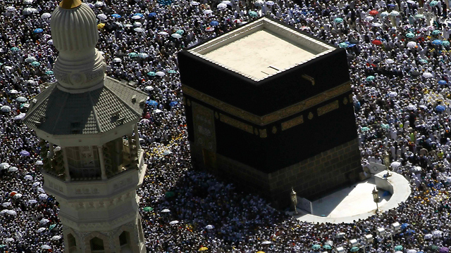 The Kaaba area during the Hajj. The busiest time of year for Saudi security authorities. (Photo: Reuters)