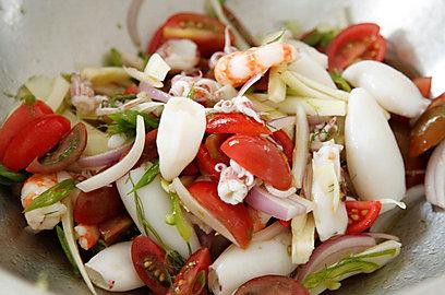 ירקות ופירות ים (צילום: מיכל וקסמן ) (צילום: מיכל וקסמן )