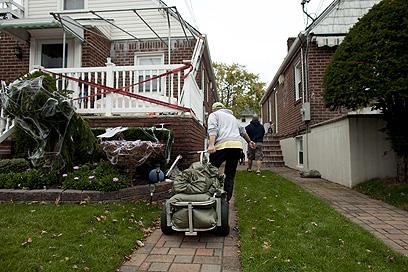 שוב התראת שווא כמו במקרי עבר? קווינס, ניו יורק (צילום:  AFP) (צילום:  AFP)