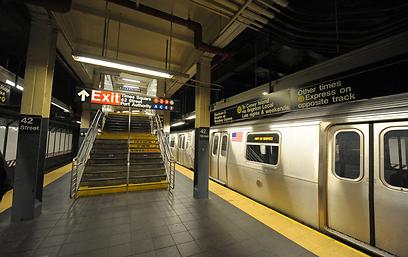 הסאבווי של ניו יורק. אין תנועה (צילום: EPA) (צילום: EPA)