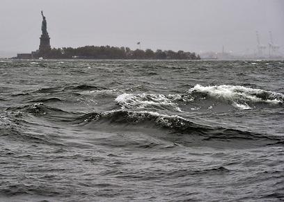 ניו יורק בעין הסערה (צילום: AFP) (צילום: AFP)